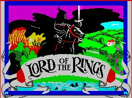Pantallazo de Lord of the Rings para Spectrum