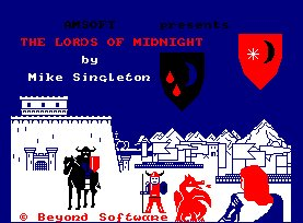 Pantallazo de Lords Of Midnight para Amstrad CPC