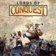 Caratula de Lords of Conquest para PC