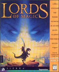 Caratula de Lords of Magic para PC