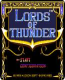 Carátula de Lords of Thunder (Consola Virtual)