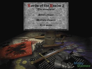 Pantallazo de Lords of the Realm II para PC