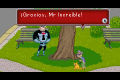 Pantallazo de Los Increibles para Game Boy Advance