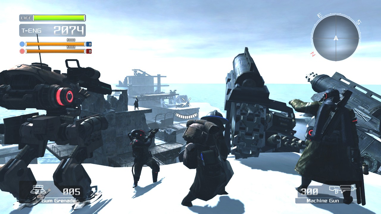 Pantallazo de Lost Planet: Extreme Condition para Xbox 360