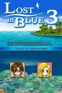 Pantallazo de Lost in Blue 3 para Nintendo DS