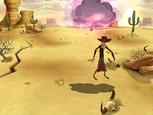 Pantallazo de Lucky Luke : Go West para PC