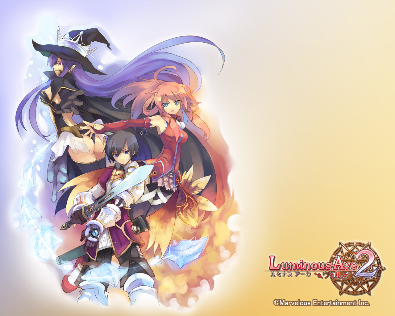 Fondo de Luminous Arc 2: Will para Nintendo DS