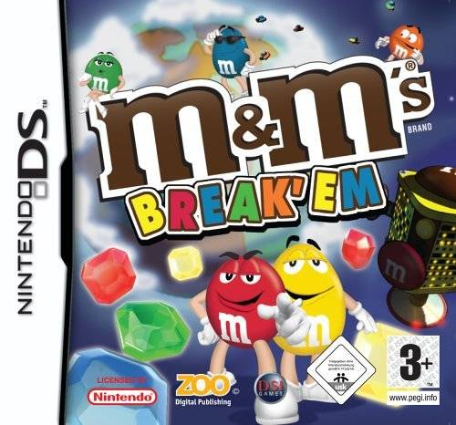 Caratula de M&M's Break' Em para Nintendo DS