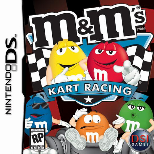 Caratula de M&M's Kart Racing para Nintendo DS