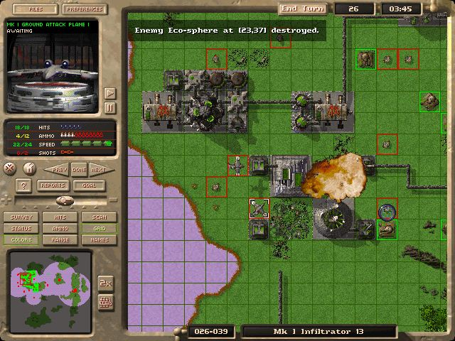 Pantallazo de M.A.X.: Mechanized Assault & Exploration para PC