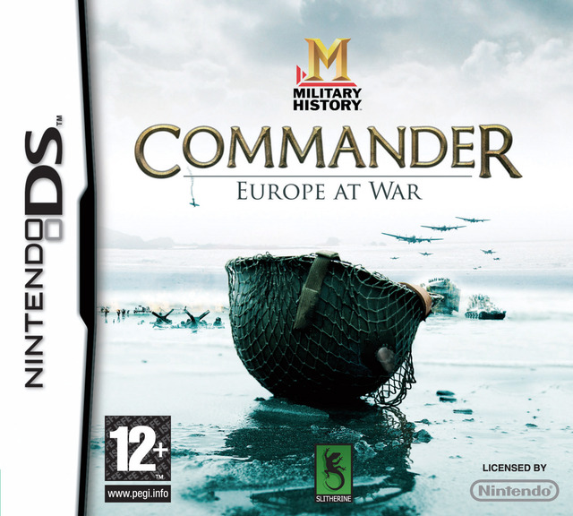 Caratula de MILITARY HISTORY Commander Europe at War para Nintendo DS