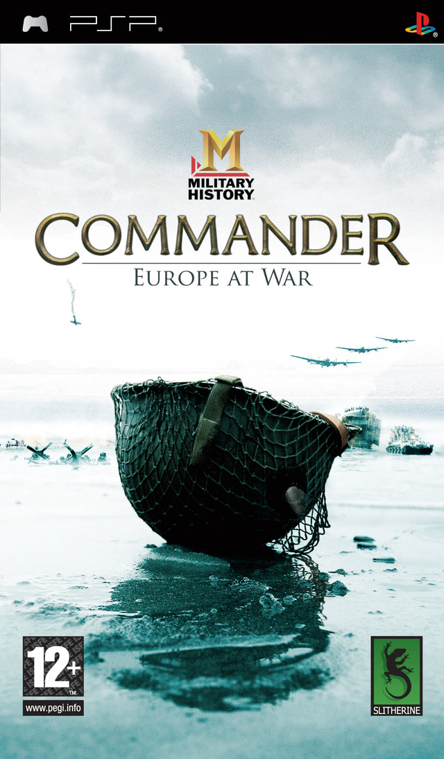 Caratula de MILITARY HISTORY Commander Europe at War para PSP