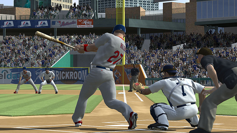 Pantallazo de MLB 07: The Show para PlayStation 3