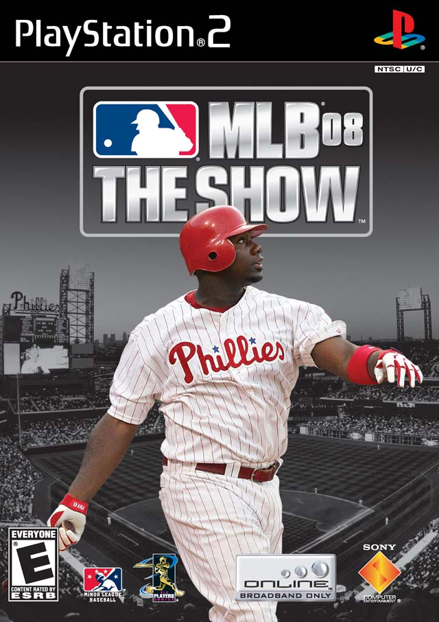 Caratula de MLB 08: The Show para PlayStation 2