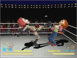 Pantallazo de MTV Celebrity Deathmatch para GameCube