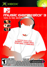 Caratula de MTV Music Generator 3: This Is The Remix para Xbox