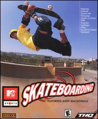 Caratula de MTV Sports: Skateboarding Featuring Andy Macdonald para PC