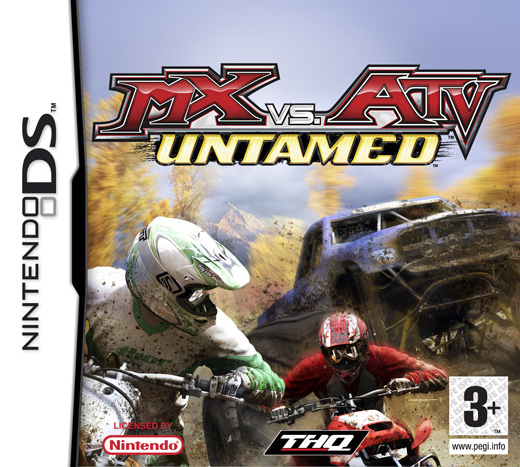 Caratula de MX vs. ATV Untamed para Nintendo DS
