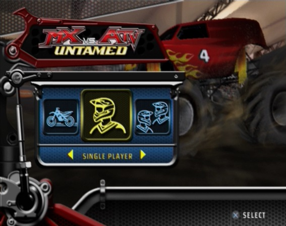 Pantallazo de MX vs. ATV Untamed para PlayStation 2