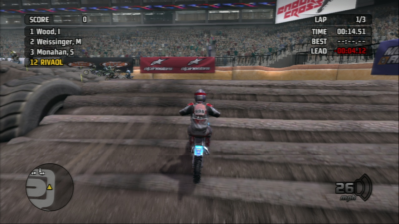 Pantallazo de MX vs. ATV Untamed para PlayStation 3