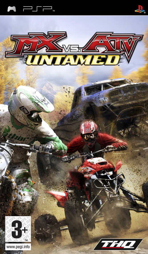 Caratula de MX vs. ATV Untamed para PSP
