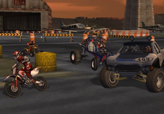 Pantallazo de MX vs. ATV Untamed para Wii