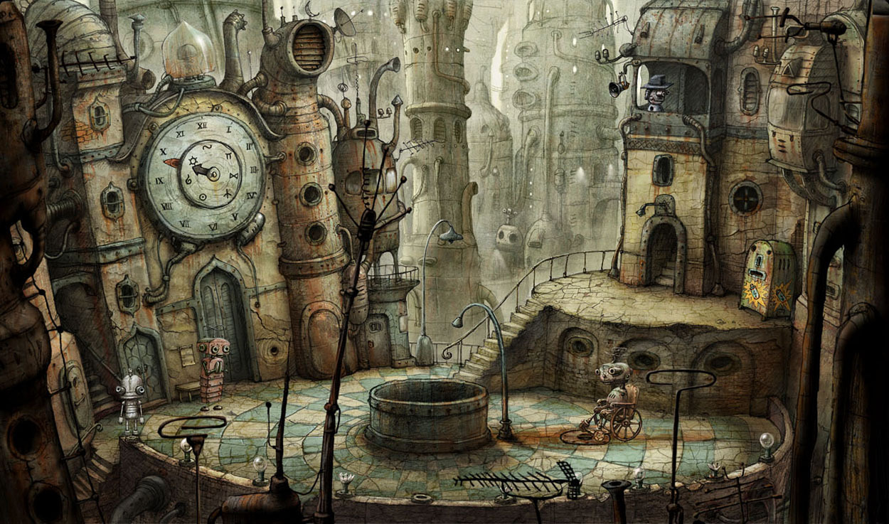 Pantallazo de Machinarium para PC
