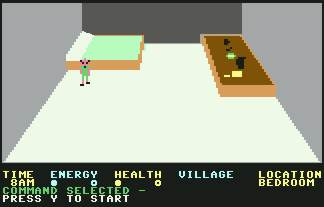 Pantallazo de Mad Doctor para Commodore 64