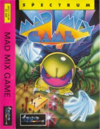 Caratula de Mad Mix Game para Spectrum