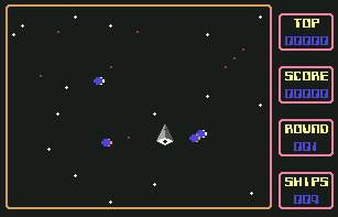 Pantallazo de Mad Planets para Commodore 64