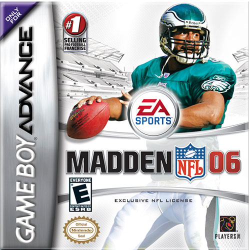 Caratula de Madden NFL 06 para Game Boy Advance