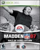 Carátula de Madden NFL 07: Hall of Fame Edition