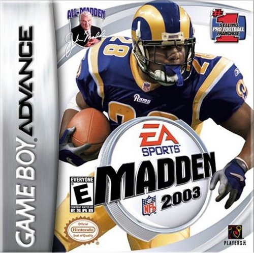 Caratula de Madden NFL 2003 para Game Boy Advance