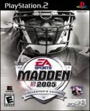 Carátula de Madden NFL 2005 Collector's Edition
