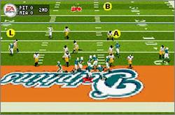 Pantallazo de Madden NFL 2005 para Game Boy Advance