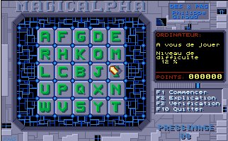 Pantallazo de Magic Alpha para Atari ST
