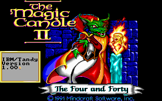 Pantallazo de Magic Candle II: The Four and Forty, The para PC