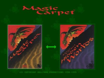 Pantallazo de Magic Carpet Plus para PC