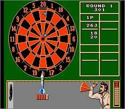 Pantallazo de Magic Darts para Nintendo (NES)