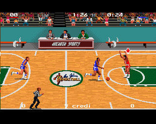 Pantallazo de Magic Johnson's Basketball para Amiga
