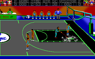 Pantallazo de Magic Johnson's Basketball para PC