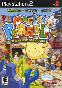 Caratula de Magic Pengel: The Quest for Color para PlayStation 2