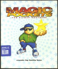 Caratula de Magic Pockets para Atari ST