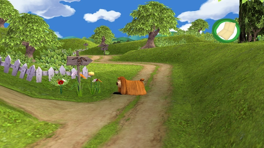 Pantallazo de Magic Rundabout, The para Wii