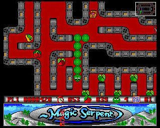 Pantallazo de Magic Serpent para Amiga