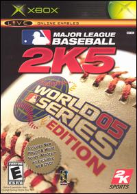 Caratula de Major League Baseball 2K5: World Series Edition para Xbox