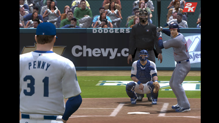 Pantallazo de Major League Baseball 2K8 para Wii