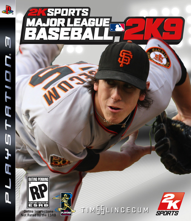 Caratula de Major League Baseball 2K9 para PlayStation 3