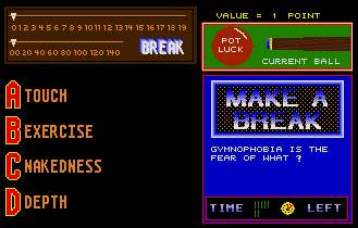 Pantallazo de Make a Break: A Trivial Game of Snooker para Atari ST