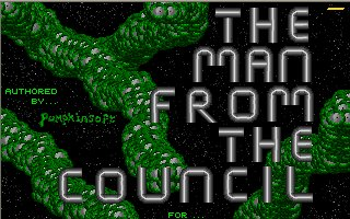 Pantallazo de Man from the Council, The para Atari ST